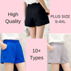 La Belle -Flat Shipping! Plus Size Korean Casual Shorts / High Waist Shorts/ High Quality/ S-4XL / Look Slim