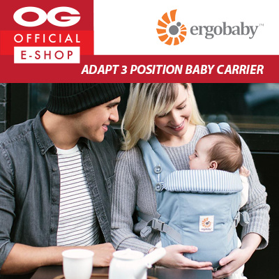 2c22b61aead7 Ergobaby - Adapt 3 Position Baby Carrier - Azure Blue ♥