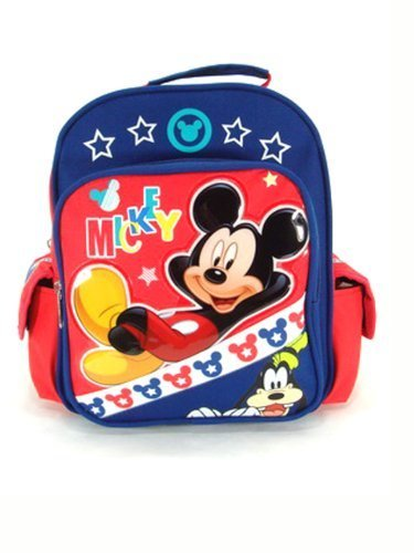 60639ae41e Qoo10 - Mini Backpack - Disney - Mickey Mouse - Sunshine 10 ...