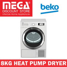 BEKO DPY8506GXB1 8KG HEAT PUMP DRYER / FREE STEAM IRON BY BEKO / LOCAL WARRANTY