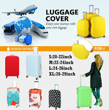 🌟 BUY 1 FREE 1 GIFT TAG ★Fashion luggage Covers  Waterproof Luggage Protective Cover For 18-29inch