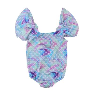 a3dcb06fa4 Cute Newborn Baby Girls Mermaid Swimwear Swimsuit Bikini Bathing Suit  One-Piece Baby Clothing