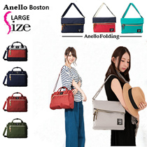 NEW ARRIVAL!Anello Boston NEW LARGE SIZE•MORE SPACE-SLIM STYLE♡