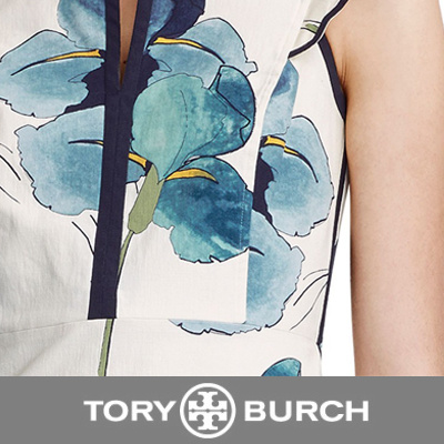 Tory-Burch EDITH DRESS The shape of things: A clean simple silhouette clears the way