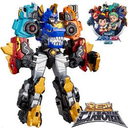 ◀KOREA CHILDREN DAY EVENT▶ DinoCore Season 2 Ultra D-Saver Kerato / 5-Units Robot /Toy/ Play