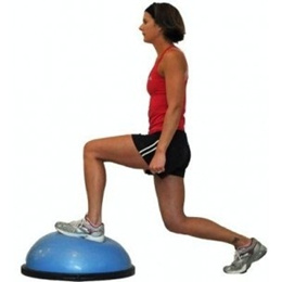 Brand New Premium Bosu Ball. Bosu balance trainer. Yoga. Local SG Stock.