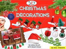 ⚡CHRISTMAS DECORATIONS⚡Christmas Accessories Decors Ornaments Christmas Stockings Santa Hats🎄