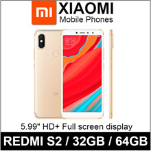 Xiaomi Redmi S2 / 16MP AI-Selfies / 5.99 HD+ Full screen display / Dual Camera / 32GB 64GB / Export