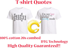 T-shirt Unisex Quotes ★ High Quality Guaranteed!!