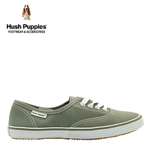 Hush Puppies SG Limited Edition Carla Canvas Sneakers (Women- Green)