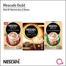[NESTLE] 1+1 DEAL: NESCAFE GOLD White Espresso/ Dark Latte/ Cappuccino