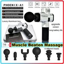 【Big Sale】Phoenix Body Muscle Massage Gun Massage Therapy Fitness Sports High Frequency Vibration