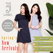 The J Label * Bestsellers * Basic Office to Casual Dress * Design and Exclusive Manufactured by Local Brand