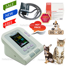 Veterinary blood pressure monitor NIBP Monitor vet Pulse Rate USB Software