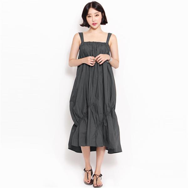 8132ウォポルワンピースnew ロング/マキシワンピース/ワンピース/韓国ファッション