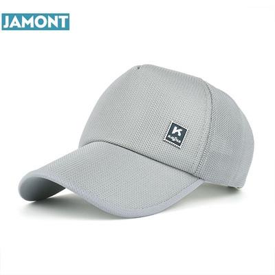 JAMONT 2018 Men Women Summer Snapback Quick Dry Mesh Baseball Cap Sun Hat  Bone Breathable Hats d0f9cae3dae8