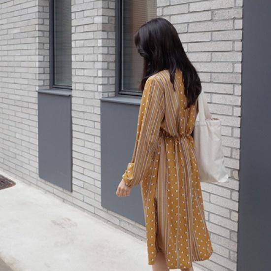 ミミ・アンド・ディディdesi ops5043 綿ワンピース/ 韓国ファッション