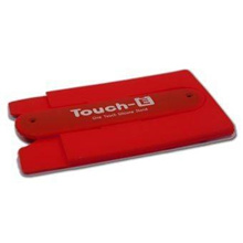 Touch - U (Big) One Touch Silicone Stand For Mobile Phone (Red)