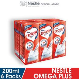 NESTLE OMEGA PLUS 6 Packs 200ml Each