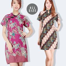 Cheongsam COLLECTION - Chinese New Year - Women Dress - Women Collection - Cheongsam Batik Dress