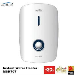 Mistral Instant Water Heater - MSH707 (5 Years Warranty)