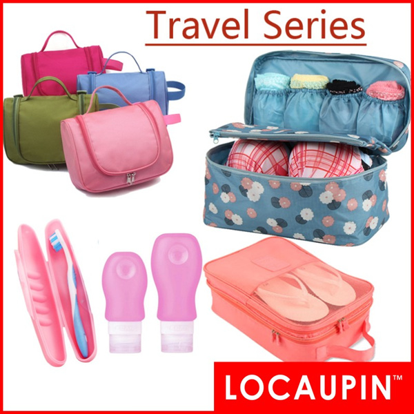 Locaupin Travel Underwear Clothes Storage Shoes Storage Bags Travel Storage Bags Deals for only RM7 instead of RM7