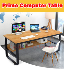 【Prime Computer Table】Study Table / Computer Table with Shelf Multiple Sizes Available