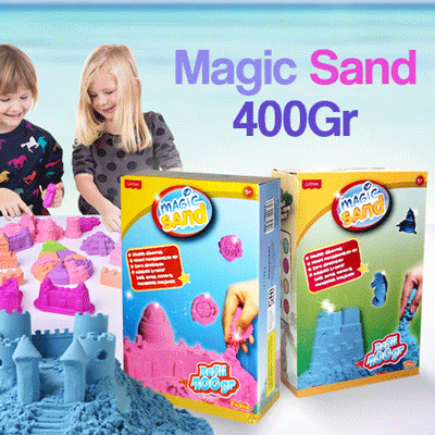 MAGIC SAND REFILL 400 GRAM Deals for only Rp25.000 instead of Rp25.000