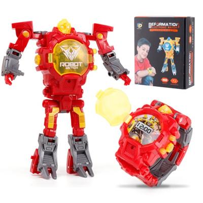 KissX Transformers Robot Watches Watch Time Timer Kids Children Boys Girls  Bumblebee Optimus Prime C