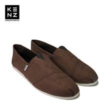 Sepatu Pria Casual Slip On | Kenz Sloppy - Brown