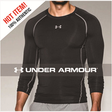 UNDER ARMOUR - HEATGEAR® COMPRESSION SHIRT LONG SLEEVE [Mens] 100% AUTHENTIC