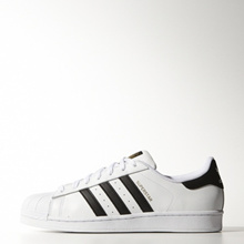 ★【adidas AUTHENTIC】★ADIDAS SUPERSTAR WHITE BLACK C77124  ★【EMS FREE】★
