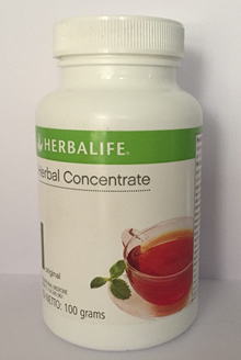 *PRICE REDUCED* HERBALIFE HERBAL CONCENTRATE TEA 100 gram - Thermo Tea That Burn Fats