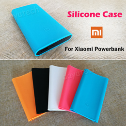 Xiaomi Powerbank Silicone Case ◆ Mi Power Bank Soft Cover Casing Sleeve for 20000 10000 5000mAh