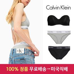 ★재고확보★[Calvin Klein] CK 캘빈클라인 여성 브라렛/팬티(3개묶음) / CK womens underwear / 무료배송