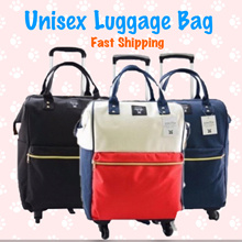 [USE QOO10 COUPONS] Premium Luggage Shopping Bag | Trolley Backpack Carry-On Travel Cabin Baggage
