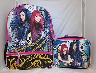 ab8df518ebc Qoo10 - Disney Descendants 2 Girls Bookbag School Backpack Lunch Box ...