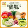 [AgogoFresh] Fresh Fruits | Guava Pineapple Papaya Coconut Dragon Fruit Promotion!