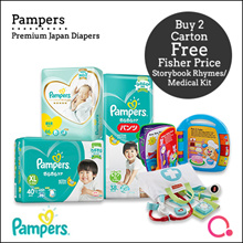 [PnG] Buy 2 Free Fisherprice Toys Baby Dry Diapers Pants / Diapers / Premium Care Diapers