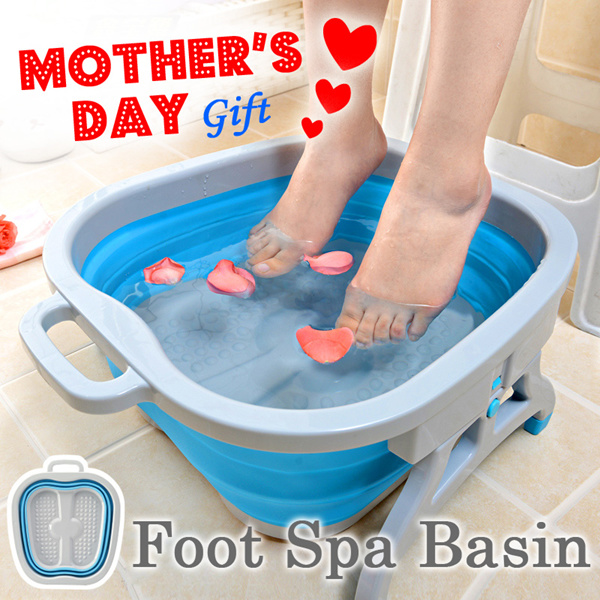 ?Mother Day Gift?Multipurpose Foot Spa Basin?Foot Bath/Foot Reflexology/Massage/Massager Deals for only S$49 instead of S$0