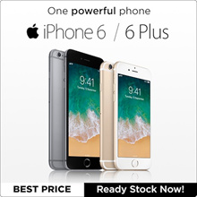 iPhone 6/6Plus/ 4.7/5.5 inch / 16/64/128GB/ With Touch ID Full Set / Condition:9/10 30 Days Warranty