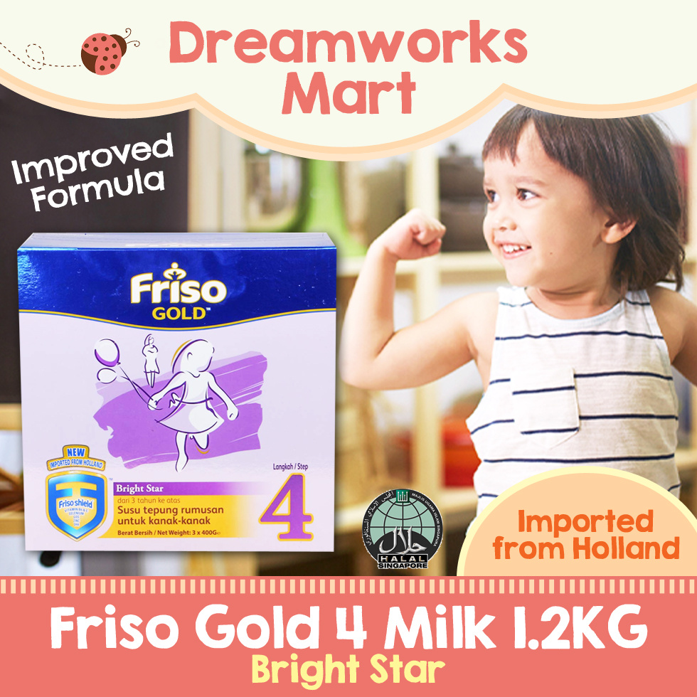 Qoo10 Friso Gold Step 4 12kg Baby Maternity Frisolac 2 900gr Show All Item Images