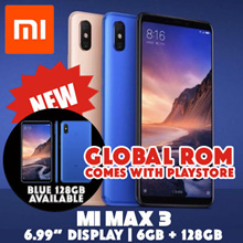 [Global Rom] Xiaomi Mi Max 3 // 6.99in display // 64GB n 128GB option available / Export set 1 month warranty