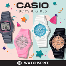*NEW MODELS ADDED* Casio Watches for Kids. Boys and Girls Collection. Free Shipping!