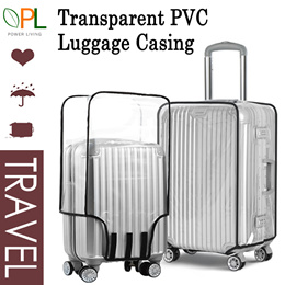 ★Best Price!!!★Transparent PVC Luggage Cover/Waterproof Protector/20~30 Inch/Local Delivery~