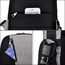 DXYIZU USB Sling Bag for Men Women Chest Bag Large Capacity Waterproof Summer Short Trip Messengers