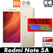 Xiaomi Redmi Note 5A Smartphone / 32GB ROM + 3GB RAM / Export Set with Warranty
