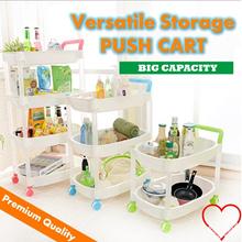 Versatile Storage Push Cart / General Purpose Storage Organizer / Multipurpose Movable Storage Organizer / Kitchen storage / Create Storage Space / Save Space / moveable trolley / kitchen trolley