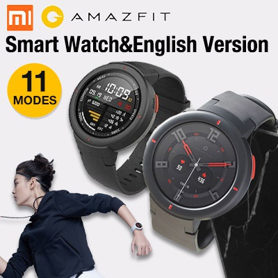 [Fast local delivery]Huami AMAZFIT Verge 3 Smart Watch English Version Deals for only RM536.8 instead of RM801