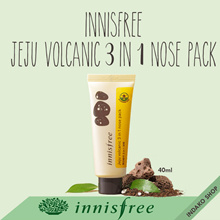 [INNISFREE] Jeju Volcanic 3 in 1 Nose Pack - 40ml
